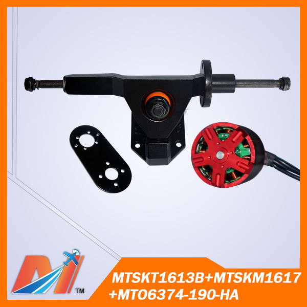 Maytech electric skateboard eboard parts Electric Skateboard Single Motor truck with mount and