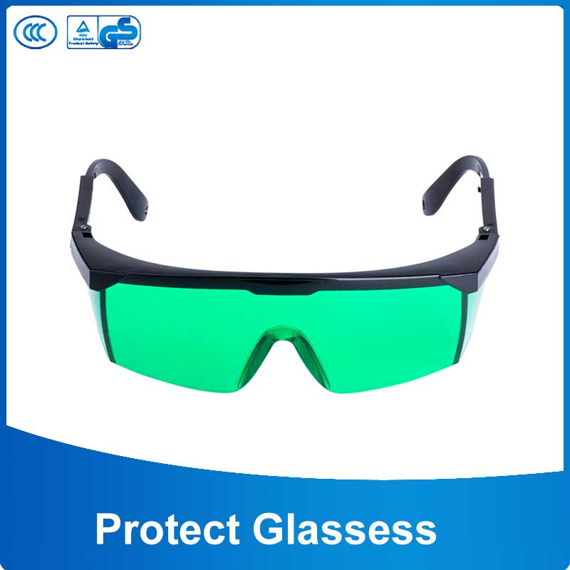 Protection Goggles Laser Safety Glasses Green Color  Eye Spectacles Protective Eyewear Cnc Safety Goggles 405 Model 405-450nm
