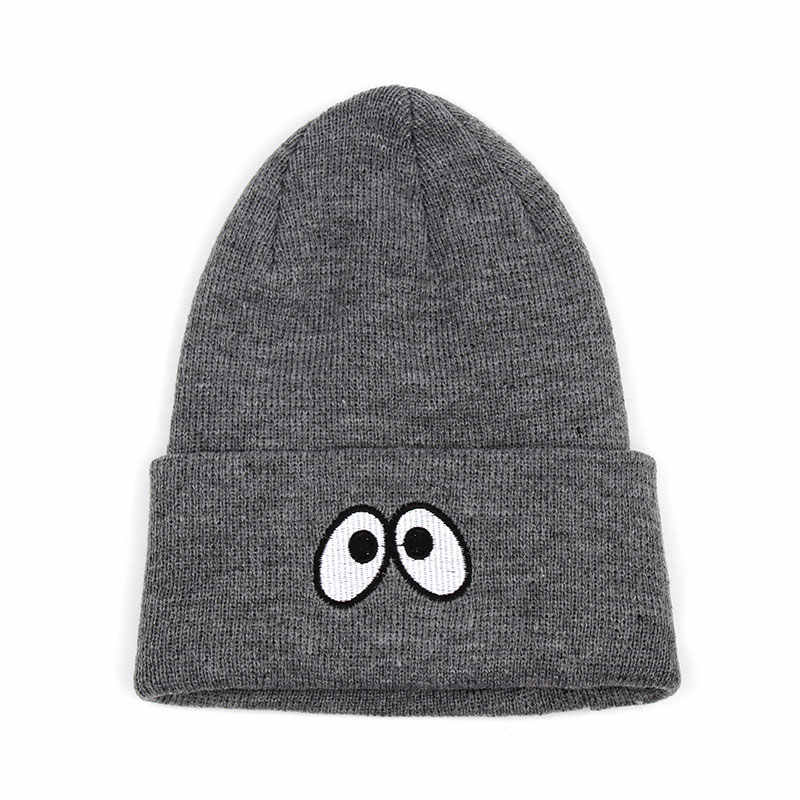 7998ab16e1d Gorros de Invierno Cool The Eyes Beanies for Women Mens Knit Winter Skully  Hats Toque Black