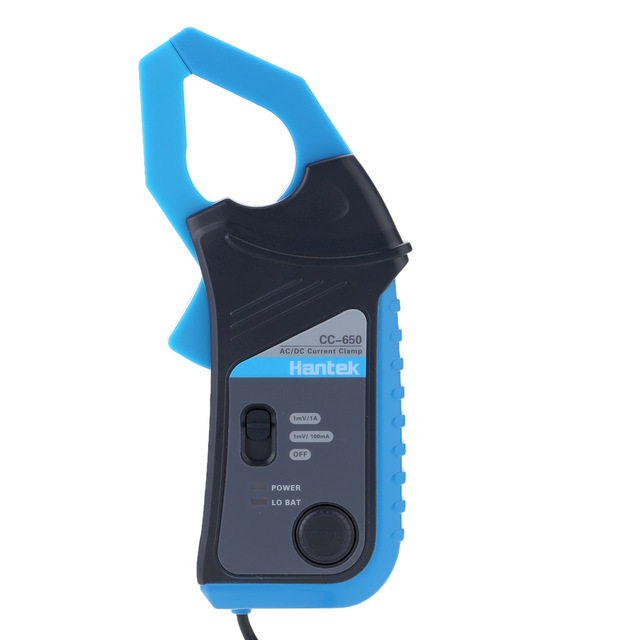 CC-650 Clamp Meter 400Hz Bandwidth 20mA to 650A DC with BNC Connector multimetro pinza amperometrica tp760 765 hz d7 0 1221a