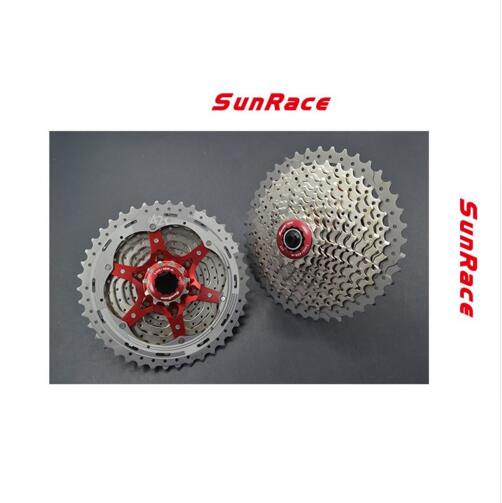 SunRace 10 Speed CSMX3 11-40 t 11-42 t 11-46 t Bicycle Freewheel Wide Ratio bike Mountain Bicycle Cassette Tool MTB Flywheel sunshine 11 speed 11 42t cassette bicycle freewheel mtb mountain road bike bicycle wide ratio freewheel steel climbing flywheel