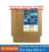 PARA SEMPRE DE JOGOS NES 405 em 1 Cartucho de Jogo para Nintend para NES Console, 72 pinos cartucho de jogo