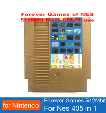 FOREVER GAMES OF NES 405 in 1 Game Cartridge for Nintend for NES Console,72 pins game cartridge