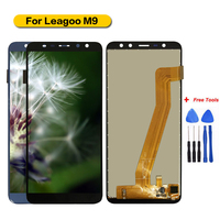 100% Tested For Leagoo M9 Display+Touch Screen Assembly Screen For Leagoo M9 with Free Tools
