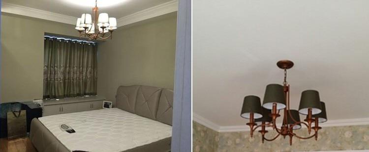 Chinesische Deckenleuchte E14 Moderne Führte Deckenleuchten Für Wohnzimmer 110-220 V Hause Beleuchtung Blume Garten Glanz Leuchte Hochwertige Materialien Licht & Beleuchtung Deckenleuchten & Lüfter
