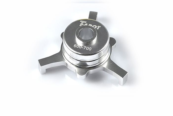 F06852 Tarot CCPM Metal Swashplate Silver TL2233-01 for Trex 600 700  RC Helicopter + FS tarot 500 parts ccpm metal swashplate tl50016 tarot 500 rc helicopter spare parts freetrack shipping