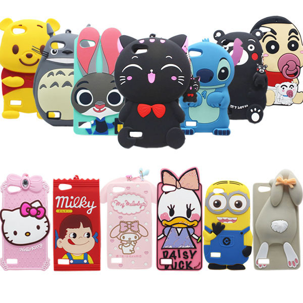 22 Types for OPPO A33 Case Lovely Cute 3D Cartoon Soft Silicon Cover For OPPO A33 / A33T / A33M / A33W / A33F Mobile Phone Cases
