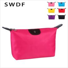 цены SWDF 2019 New Multifunction Makeup Bag Women Cosmetic Bags Organizer Box Ladies Handbag Nylon Travel Storage Bags Wash Bag
