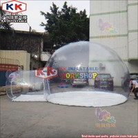 Outdoor Dome Camping Inflatable Transparent Bubble Tent/ Inflatable Crystal Bubble Tent/ Inflatable Bubble Hotel Tent