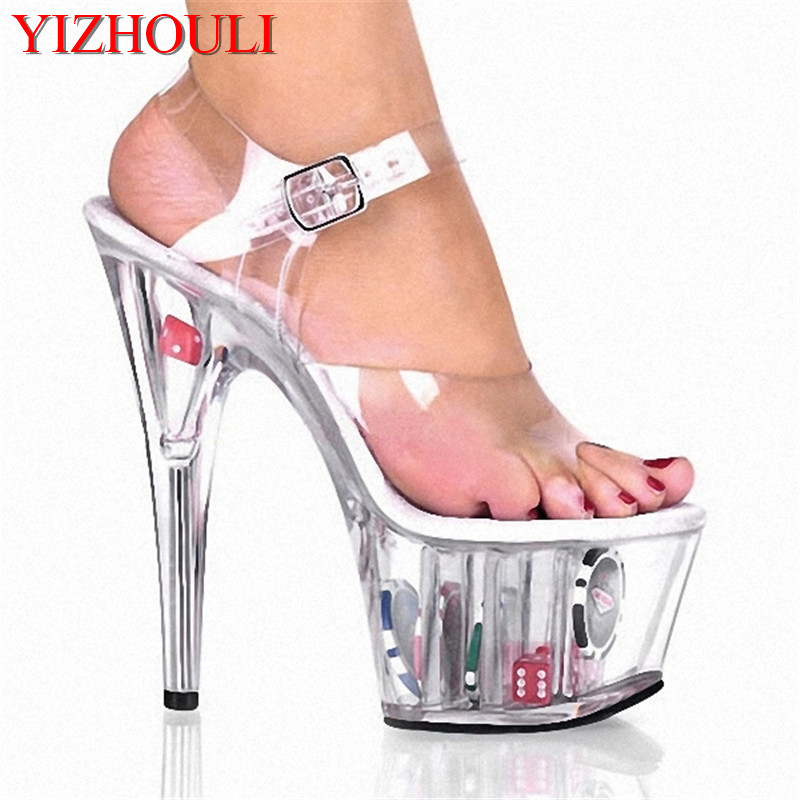 New special bride shoes flower at the end of the super hate day 15 cm high heels thick bottom sandalsNew special bride shoes flower at the end of the super hate day 15 cm high heels thick bottom sandals