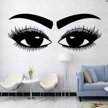 Cute eye Wall Stickers Personalized Creative Living Room Children Waterproof Wallpaper