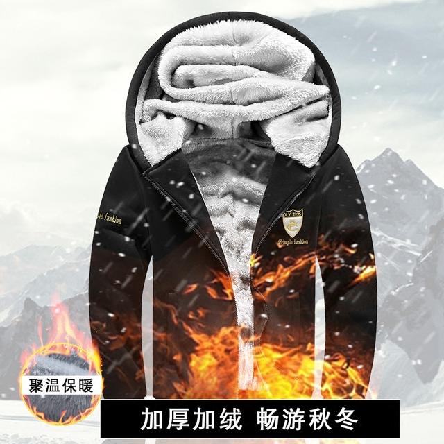 TG6126 Baratos por atacado 2016 new Adicionar cabelo espessamento de algodão-acolchoado roupas homens casaco acolchoado casaco de inverno