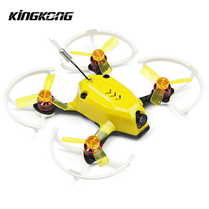 Original Kingkong 95GT 95mm FPV Racing Drone with F3 4in1 10A Blheli_S 25mW 16CH 800TVL ARF BNF