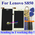 High Quality LCD Display + Touch Screen Digitizer Panel Replacement For Lenovo S850 CellPhone 1280*720 5.0inch Black White color