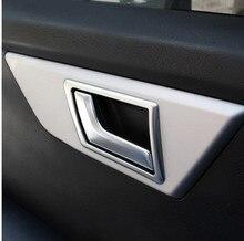 Car Interior Door Decoration Frame Trim For Mercedes Benz GLK X204 GLK200 260 2009-2015 Styling Acessories