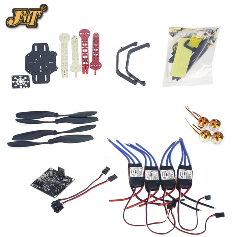 JMT RC Drone Quadrocopter 4-axis Aircraft Kit F330 MultiCopter Frame KK XCOPTER V2.9 Flight Control No Transmitter No Battery rc drone quadcopter 4 axis aircraft kit f330 multicopter frame 6m gps apm2 8 flight control no transmitter no battery f02471 e