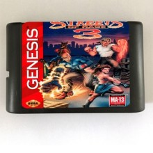 Straten Van Rage 3-16 bit MD Games Cartridge Voor MegaDrive Genesis console(China)