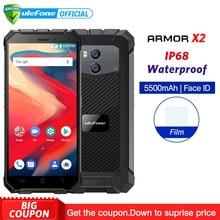 Ulefone Zırh X2 IP68 Su Geçirmez Cep Telefonu Android 8.1 5.5