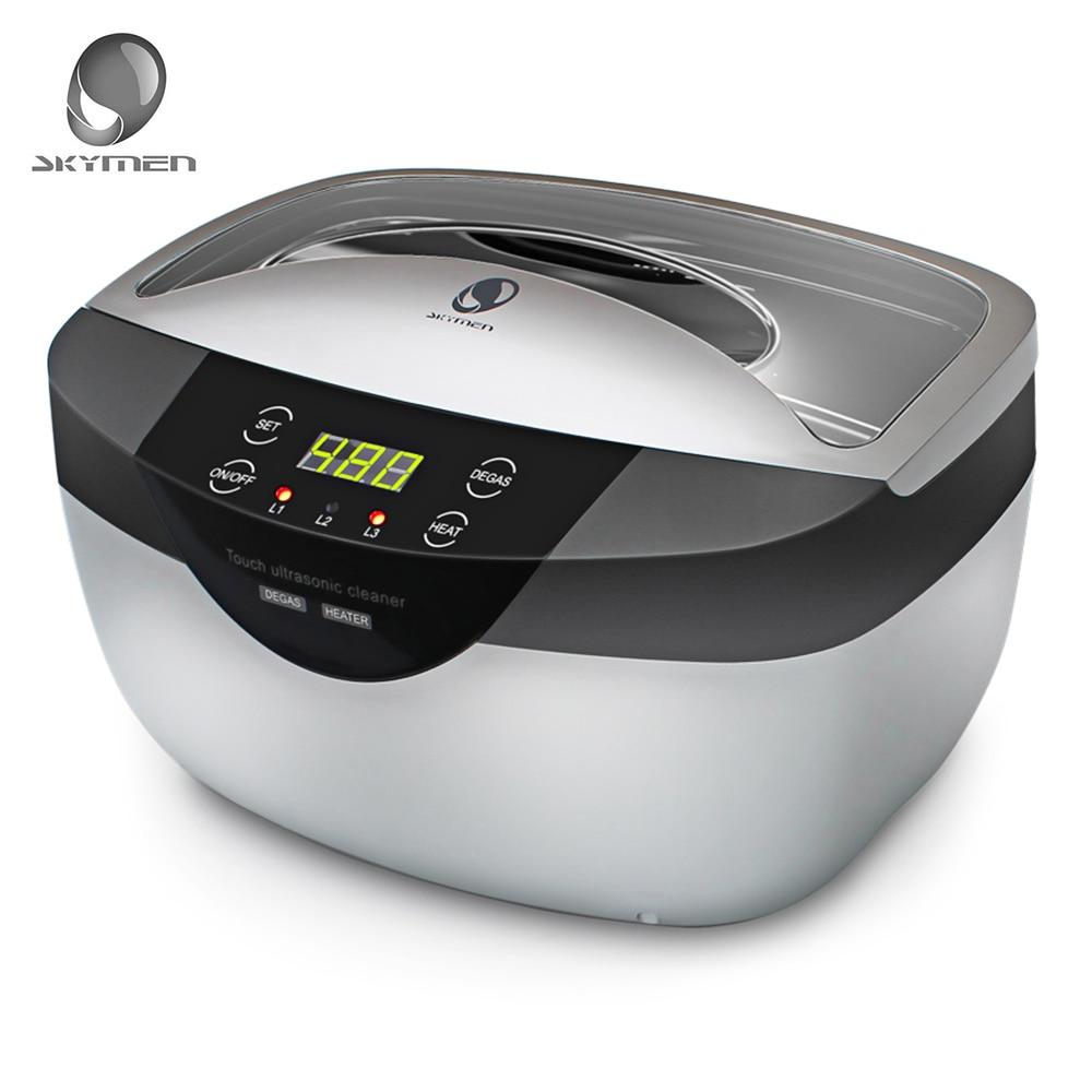 SKYMEN 2.5L 120 Вт 40 кГц ультразвуковой очистки корзины ультразвуковая ванна стерилизатор стерилизации дезинфекции ультразвуковой очистки машин...