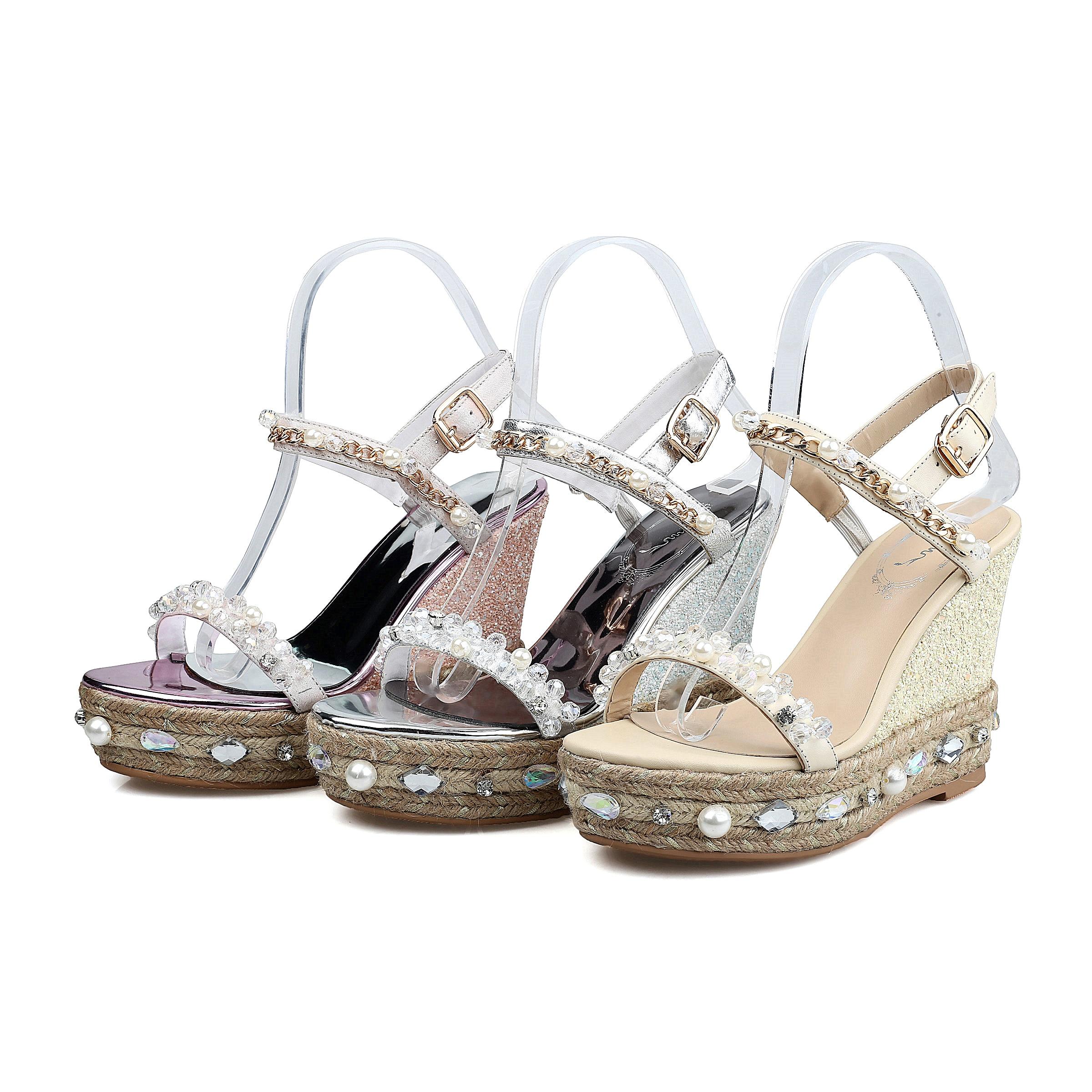De Rose Ruban Chaussures Doratasia Sandales Véritable Sanda pqSVUzM