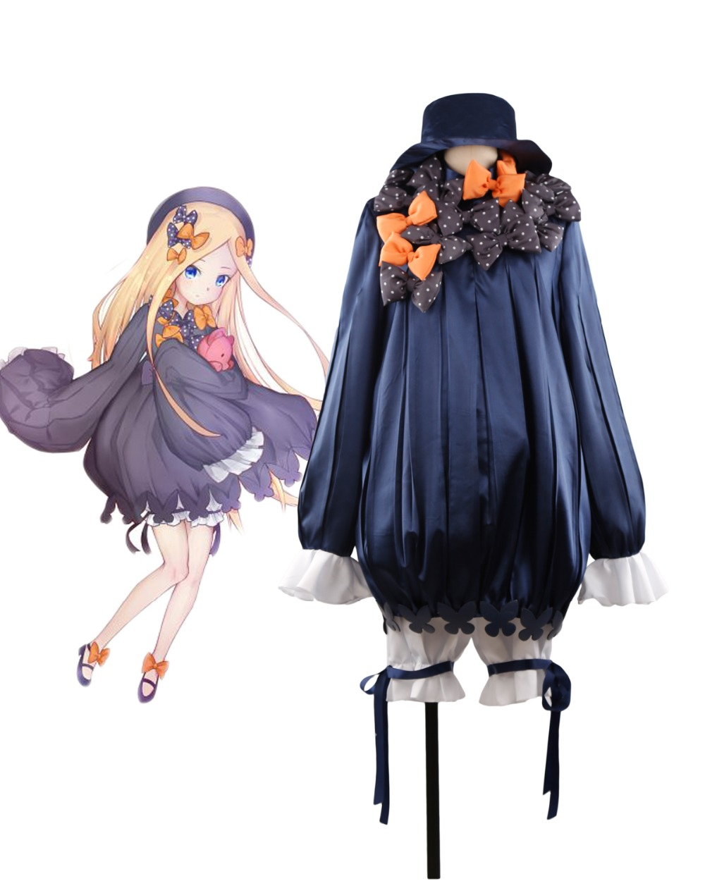 FGO Fate/Grand Order Foreigner Abigail Williams Cosplay Costume Custom Made