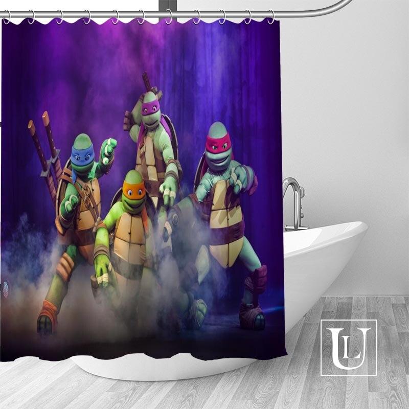 Custom Shower Curtain Teenage Mutant Ninja Turtles Bathroom Curtains High Quality Polyester Bath Decoration In From Home