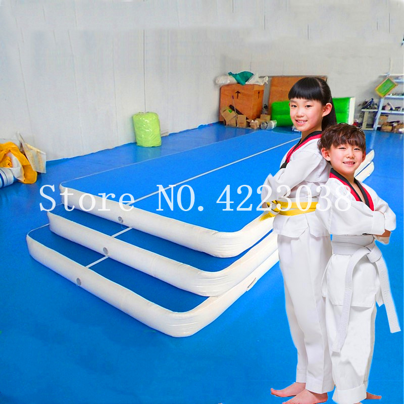 3M Inflatable Gymnastic Mat Taekwondo Flip Mat Household Air Track Floor Trampoline Yoga Mat Parkour Multifunctional Sports Mat3M Inflatable Gymnastic Mat Taekwondo Flip Mat Household Air Track Floor Trampoline Yoga Mat Parkour Multifunctional Sports Mat