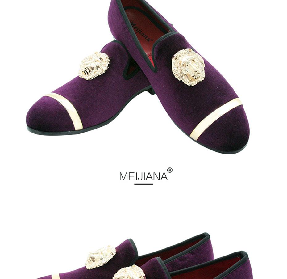 HTB12sPCXMsSMeJjSsphq6xuJFXaa - New Fashion Gold Top and Metal Toe Men Velvet Dress shoes italian mens dress shoes Handmade Loafers