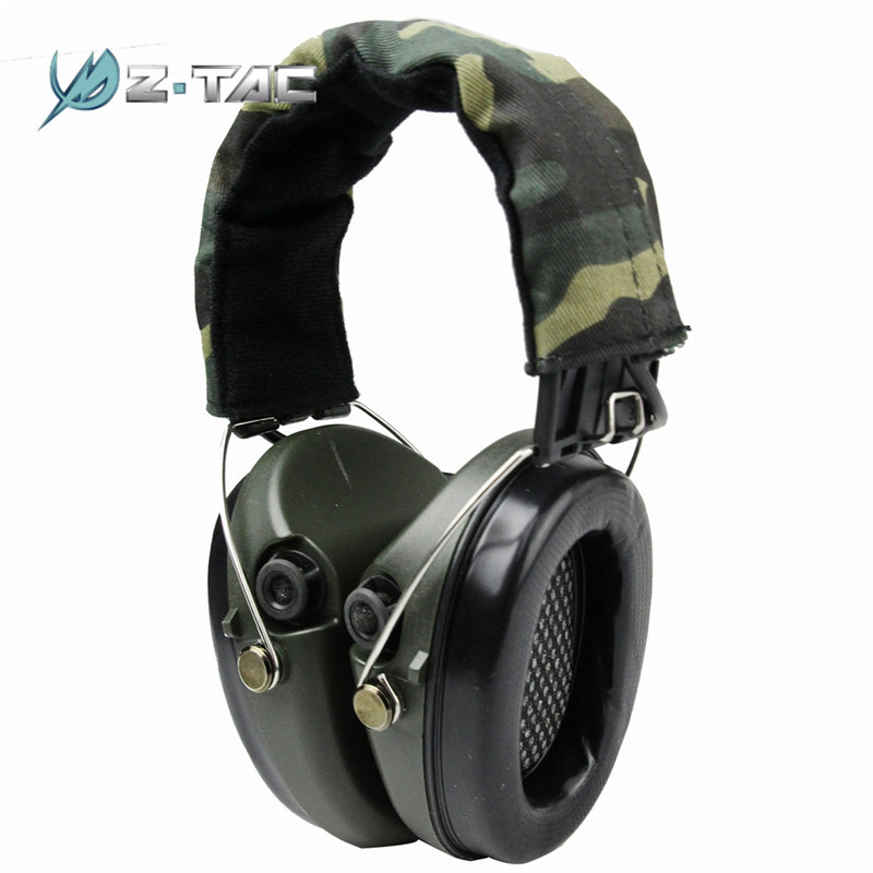 Z-Tactical Noise Reduction Headset Tactical Headsets Shooting Hunting Headset Headphone Ear Cover Accessories цена 2017
