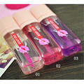 1Pc Clear Pink Color-changing Lip Gloss Liquid Moisturizing Waterproof Lasting Lip Stick 3 Colors