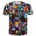 Juego de Yu Gi Oh Paparazzi Monsters t-shirt Hombres Mujeres Harajuku tee camisa Duel Monsters Anime camisetas Hipster 3D t shirt camiseta