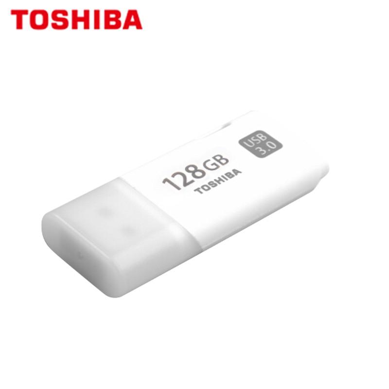 100% Original TOSHIBA U301 USB 3.0 Flash Drive 64GB 32GB Pen Drive Mini Memory Stick Pendrive U Disk White Thumb Flash Disk(China)