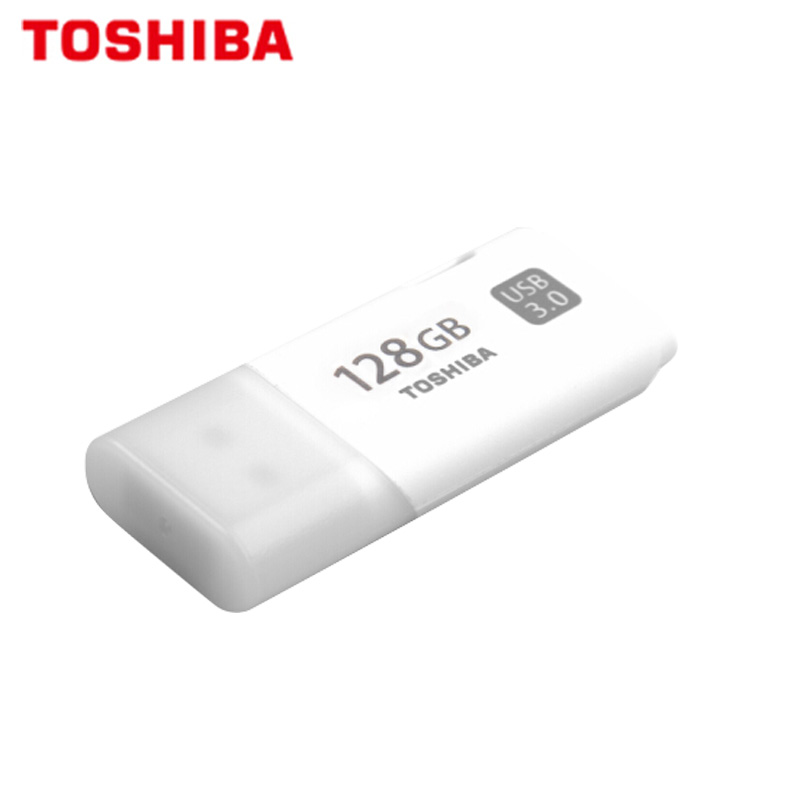 100% Original TOSHIBA U301 USB 3.0 Flash Drive GB 32 64GB Mini Pen Drive Memory Stick Pendrive U Disk branco Disco Flash de Polegar