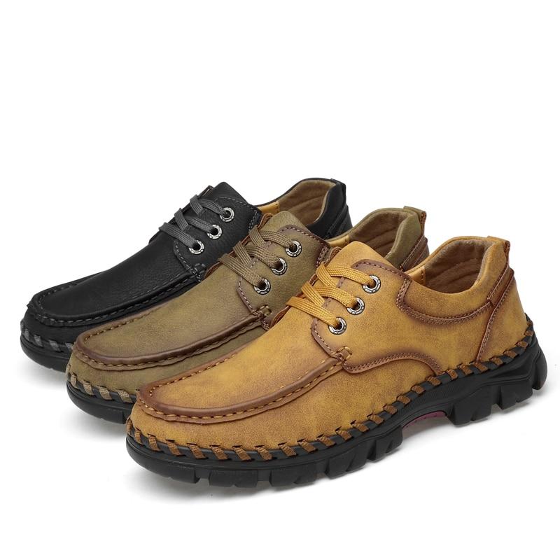 Andaziyan Homens Preto Grande marrom Sapatos Tamanho cáqui Dos Casuais BqqPZ