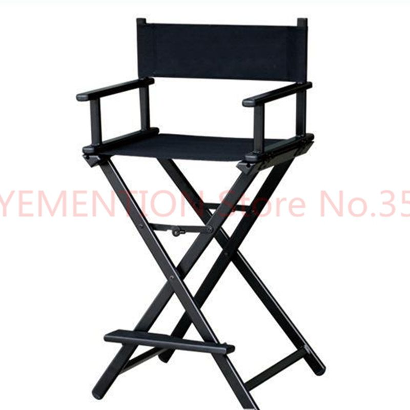 Aluminum Frame Makeup Artist Director Chair Foldable Outdoor Furniture Lightweight Portable Folding Director Makeup Chair 5pcs makeup artist folding director s chair aluminum frame light weight golden color for indoor outdoor use director chair foldable
