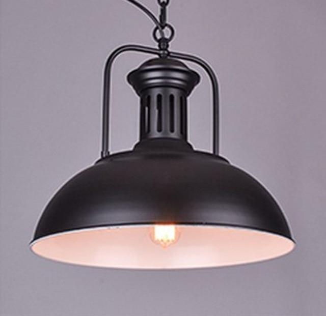 Industrial Metal Pendant Light Bar Dining Table Lamp Chandelier For