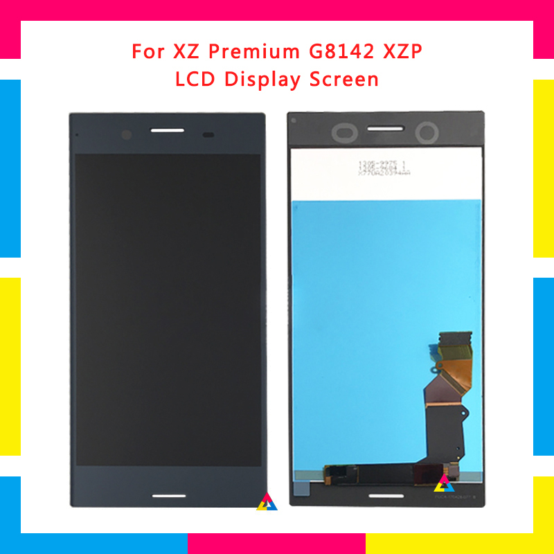 LCD Display Screen With Touch Screen Digitizer Assembly For Sony Xperia XZP XZ Premium G8142 G8141 Replacement LCD Display Screen With Touch Screen Digitizer Assembly For Sony Xperia XZP XZ Premium G8142 G8141 Replacement