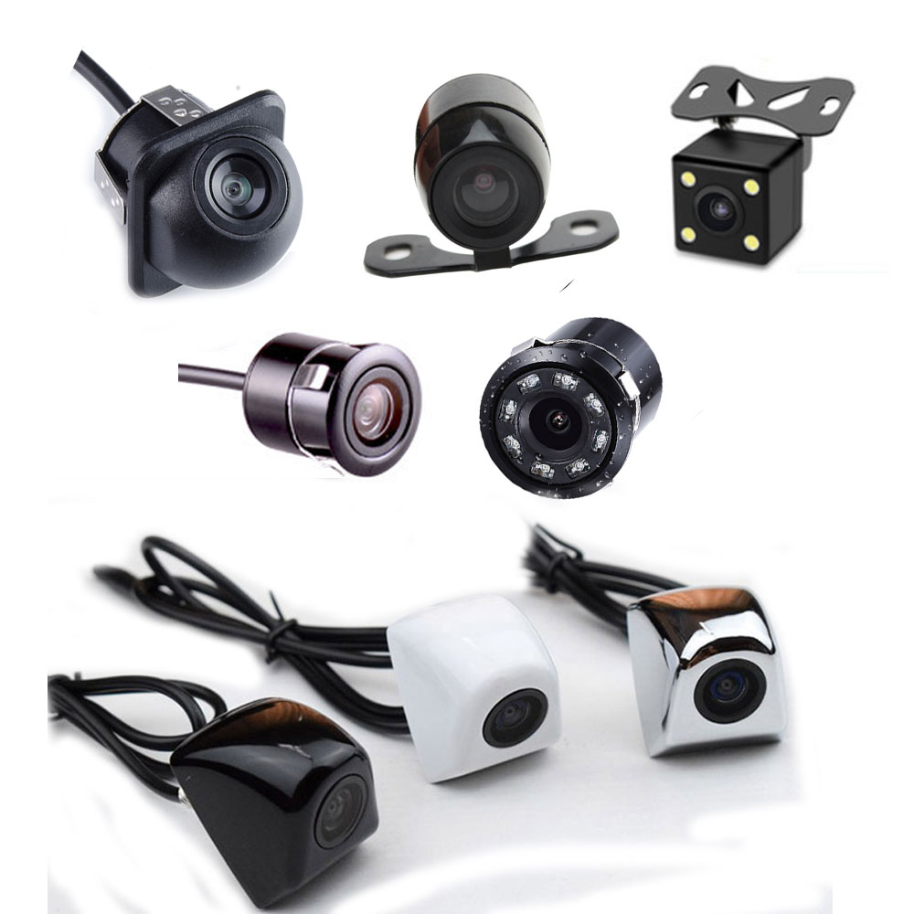 BYNCG Car Rear View Camera 4 LED Night Vision Reversing Auto Parking Monitor CCD Waterproof 170 Degree HD Video(China)