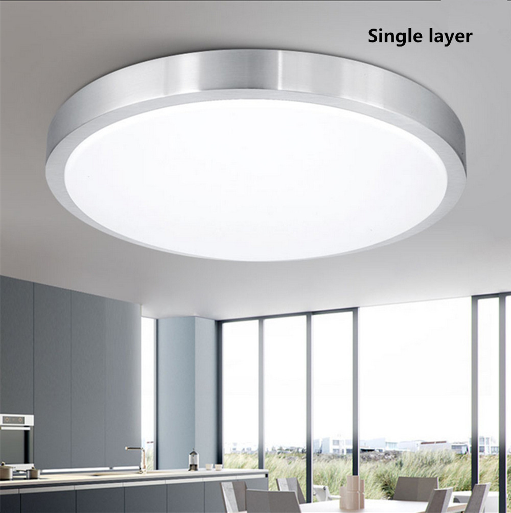 2017 ABS LED modern ceiling lamp round living room lights indoor ...