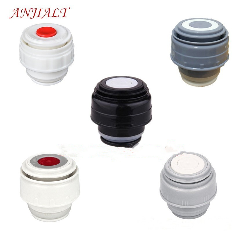 ANJIALT 4.5cm Thermos Bottle Cover Thermo Mug Stopper Thermos Cover Thermal Cup Lid termos Vacuum Flask Cap Buy One Get One Free lid