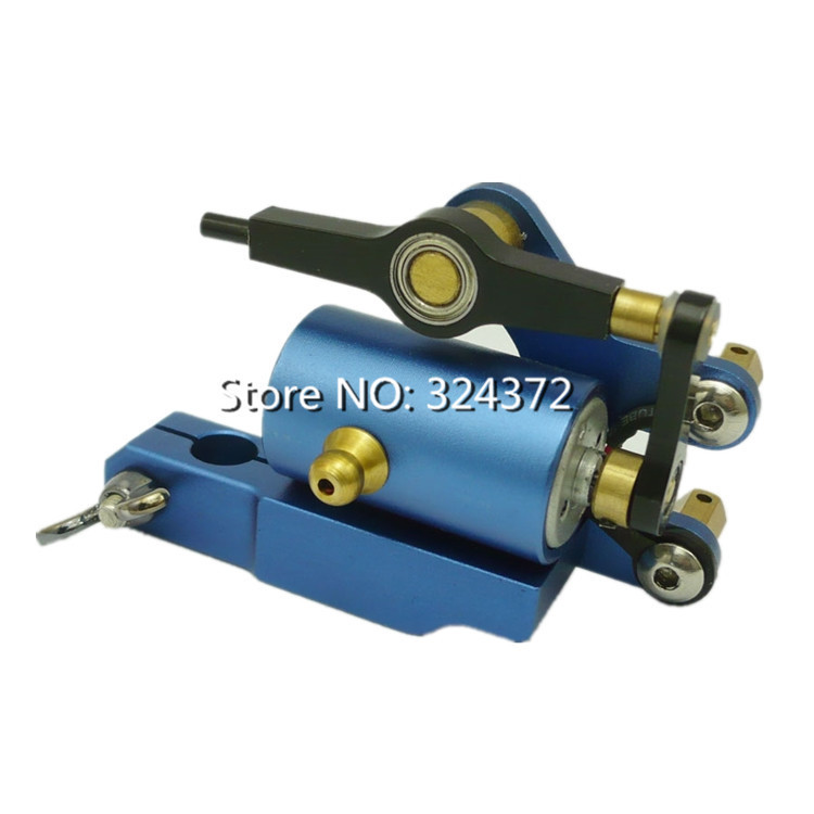 ФОТО Free shipping Durable Blue Professional High quality Tattoo Gun Quiet Strong Power for shader and Liner rotary tattoo machine