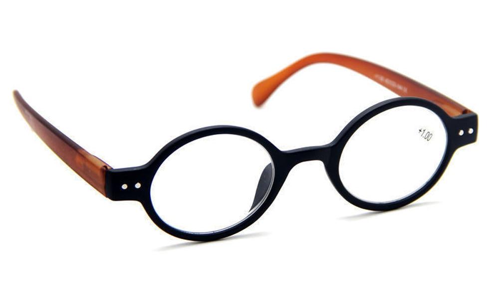 51dd604fbd842 Aliexpress.com  Compre Agstum Designer De Pequeno rodada Oblatos Oval Do  Vintage Primavera Dobradiça Óculos de Leitura + 1 + 1.5 + 2 + 3 + 4 de  confiança ...