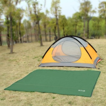 Waterproof Outdoor Camping Tarp Picnics Mat Blanket Tent Footprint Sun Shelter for Outdoor Activities Camping Beach Drop Ship