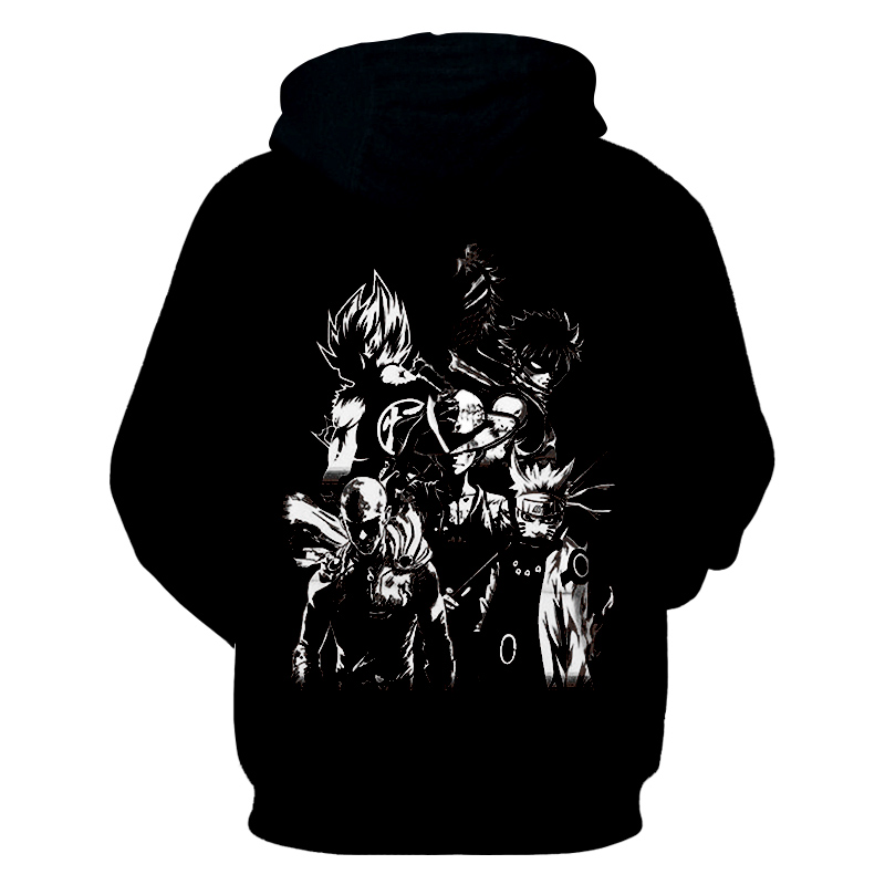 14973e887 US $25.89 39% OFF CJLM Dropshipping Anime Hoodies One Piece Dragon Ball  Naruto Bleach 3d Print Hoodies Sweatshirts Jacket Winter Warm Sweats  Coats-in ...