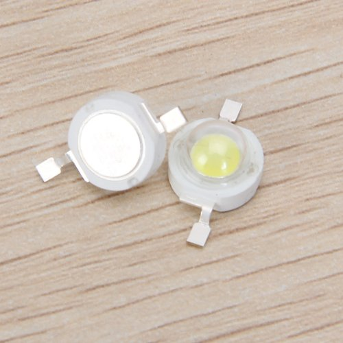 BMBY Hot 10 and 1 white/warm white 3 w high power LED lamp bead (5 five white/warm white