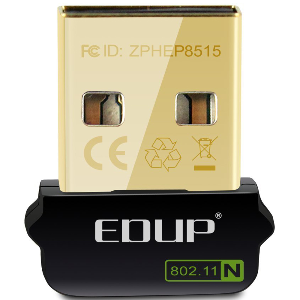 EDUP Usb Wifi Adapter 150Mbps Driver Free For Raspberry Pi Built-in Antenna Usb Ethernet Adapter Wifi Receiver For PC