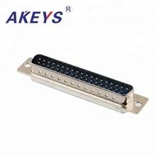 цена на 4PCS VGA Interface DB37 Pin Double Row Blue Core Male VGA Adapter Interface