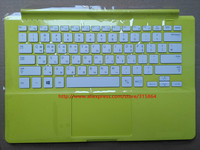 Origina New Laptop Keyboard With C Case Shell For Samsung 9005s3g 915s3g BA75 04752B Yellow Color