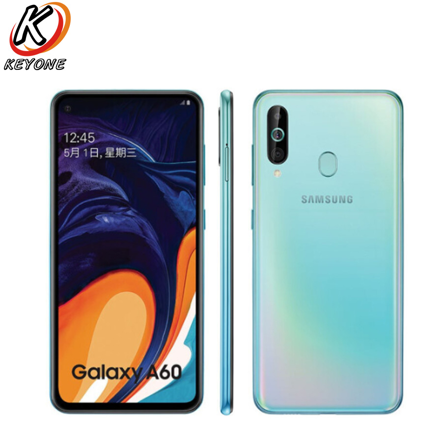 """Image 3 - New Samsung Galaxy A60 LTE Mobile Phone 6.3"""" 6G RAM 64GB/128GB ROM Snapdragon 675 Octa Core 32.0MP+8MP+5MP Rear Camera PhoneCellphones   -"""