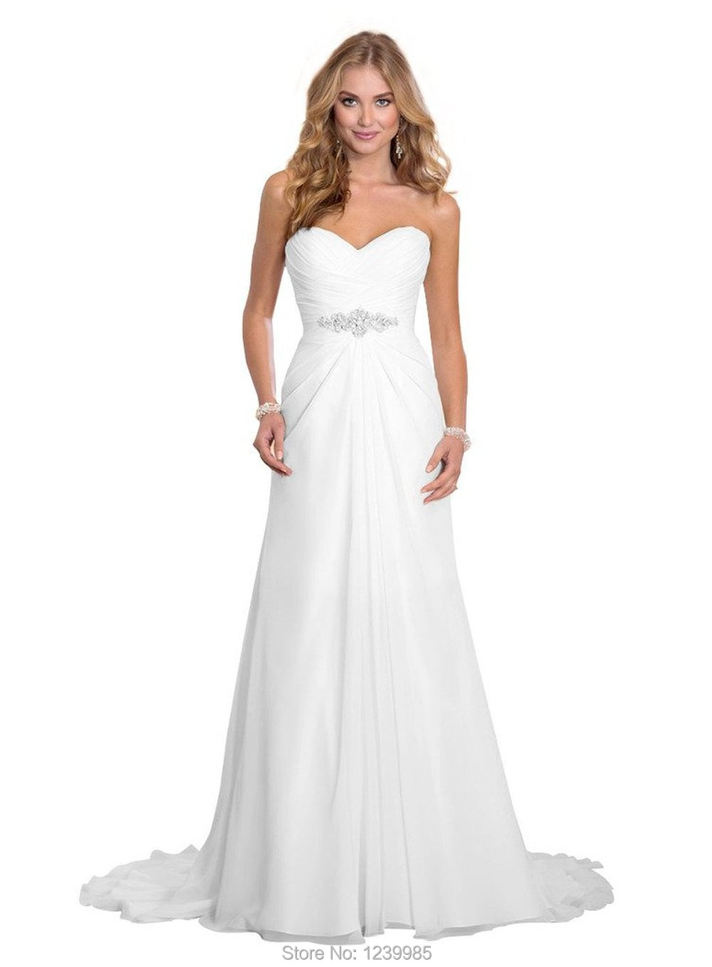 White dress design 2017 - Aliexpress Com Buy E Marry Wedding Dress 2017 Simple Design Off Shoulder Sexy Backless Chiffon Bridal Gown With Beads White Dress For Bride From Reliable
